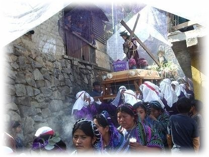 carrying the cross holy week san antonio palopo